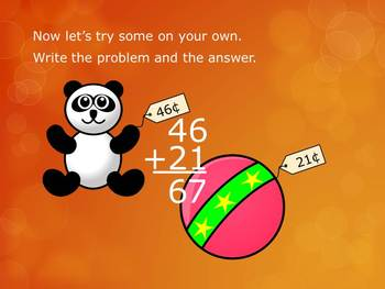 1.NBT.4 CC 1st Grade Math - Adding 1 and 2 Digit Numbers Without Regrouping 1