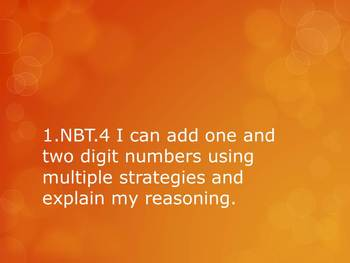 1.NBT.4 CC 1st Grade Math - Adding 1 and 2 Digit Numbers Without Regrouping 2