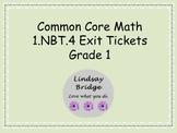 1.NBT.4 Exit Tickets