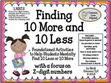 1.NBT.5  Foundational Activities for Mentally Finding 10 M