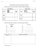 1.NBT.5 Ten More & Ten Less 1st Grade Common Core Math Worksheets