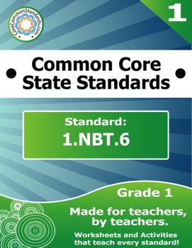 1.NBT.6 First Grade Common Core Bundle - Worksheet, Activi
