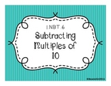 1.NBT.6 Subtracting Multiples of 10