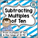 1.NBT.6 Subtracting Multiples of Ten from Multiples of Ten {CC Aligned}