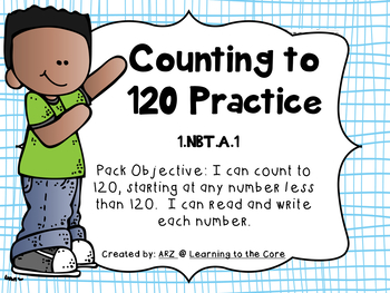 1.NBT.A.1 Counting to 120