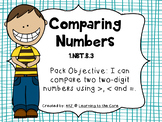 1.NBT.B.3 Comparing Numbers using Greater than, Less than, and Equal to