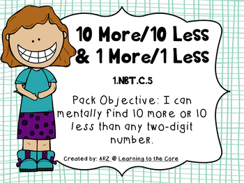 10 More 10 Less Mystery Picture Teaching Resources Teachers Pay