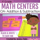 1st Grade Math Centers- Operations and Algebraic Thinking OA