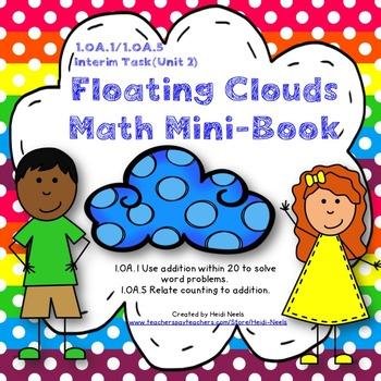 1.OA.1 & 1.OA.5 Math Addition Mini Book