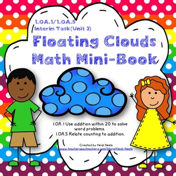 1.OA.1 & 1.OA.5 Math Addition Mini Book