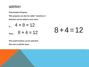 1.OA.3 Common Core First Grade Math - Properties of Operations