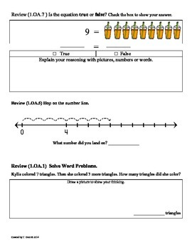 (1.OA.3) Commutative Property -1st Grade Common Core Math Worksheets-1st 9 Weeks
