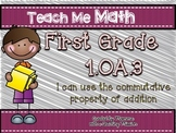 1.OA.3 Math Center and Assessment Exit Tickets
