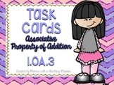 1.OA.3 Task Cards Associative Property of Addition