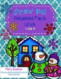 1.OA.4 Snow Pals Related Fact Unit