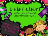 Project Based Learning Activity 1.OA.5 1.OA.6 I WANT CANDY