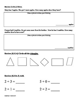 (1.OA.5) Counting On -1st Grade Common Core Math Worksheets-1st 9 Weeks