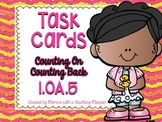 1.OA.5 Task Cards Counting on Counting Back