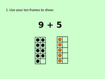 1.OA.6 Addition of 1-Digit Numbers by Making Ten