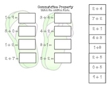 1OA.6 Commutative Property of Addition Activity Pack