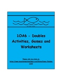 1OA6 - Doubles Activities, Games and Worksheets