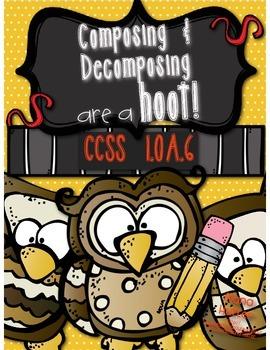 1.OA.6 - Composing & Decomposing are a Hoot!