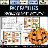 Fact-O-Lantern Fact Families CCS  1.OA.6.