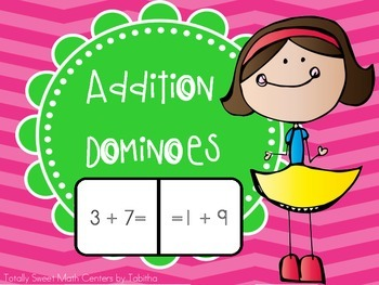 1.OA.7 Addition Dominoes Center