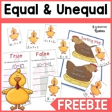 Equal and Unequal Math Center