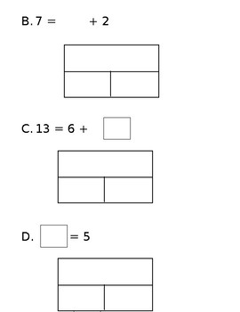 1OA7 and 1OA8 True/False Equations and Understanding the Equal Sign