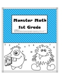 1.OA.A.1 Monster Math 1st Grade