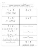 1.OA.B.3 Commutative Property Practice Pages
