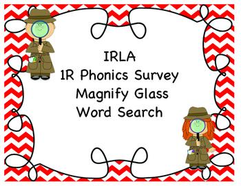 1R Phonics Survey