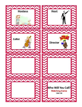 2nd Grade 2.00-2.49 Who Will You Call? Game Aligned to American Reading Co IRLA
