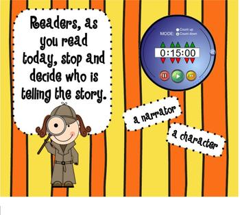 1.RL.6 Who is Telling the Story SMARTBoard Lesson