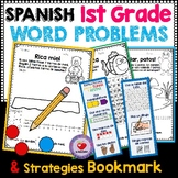 1ST GRADE MATH WORD PROBLEMS- Spanish