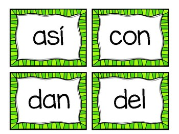 1V palabras con poder (aligned with american reading company)