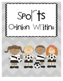 1.W.1 Sports Opinion Writing