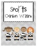 1.W.1 Sports Opinion Writing