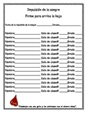 1drop Blood Drive Packet - Spanish