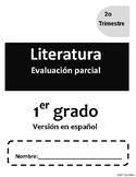 1er Grado. Evaluacion v2.2 de Literatura. Guía del maestro