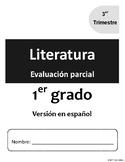 [Grade 1] [Español/Spanish] Literatura-Actividades y evaluaciones