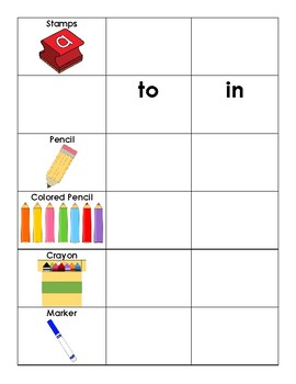 1st 100 Fry Sight Words Word Work Book