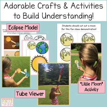 Solar Eclipse 2017 Activities, Writing, Crafts, Viewers, Party Ideas and More!