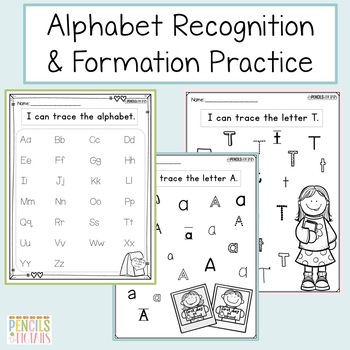 Back to School Tracing Practice - Letter Formation, Word Practice & More!