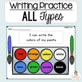 Writing Practice: All Types! -Writing for Different Purpos