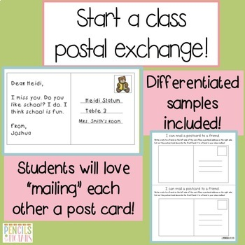 Writing Practice for PreK - 2nd: Letters, Notes, Emails, Postcards, & More!