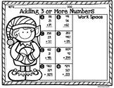 1st 2nd 3rd Grade No Prep Printable Christmas Holiday Math
