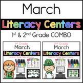 1st 2nd COMBO March Literacy Centers