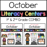 1st and 2nd October Literacy Centers